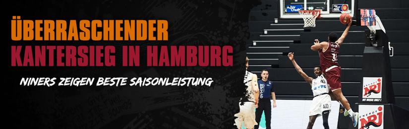 Überraschender Kantersieg in Hamburg